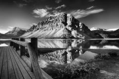Mono Print - Bridge To The Lake - Melissa Anderson