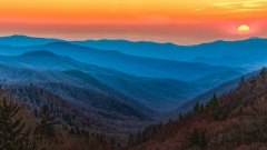Honorable Mention Pictorial - Smoky Mountain Sunset - Marianne Diericks