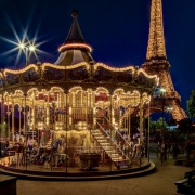 1st Place Travel - Paris Carousel - Terry Butler