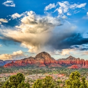 2nd Place Realistic - Sedona Clouds - Fred Sobottka