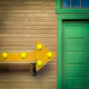 3rd Place Color Print - Green Door - Terry Butler