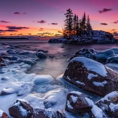 15.Sunrise above the Island - Pavel Blagev