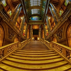 Honorable Mention Creative - Capitol Stairs - Paul Santo