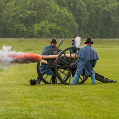 Honorable Mention Realistic - Cannon Blast - Fred Sobottka