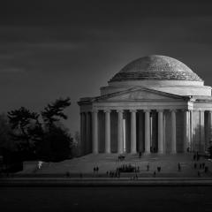 Honorable Mention Realistic - Jefferson  Memorial - Michael Waterman