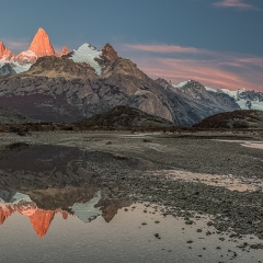 Honorable Mention Realistic - Mt. Fitzroy - Melissa Anderson