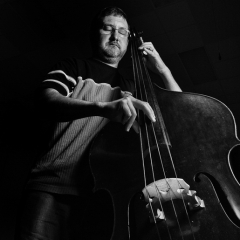 Honorable Mention Realistic -  The Bass Player-Larry Weinman