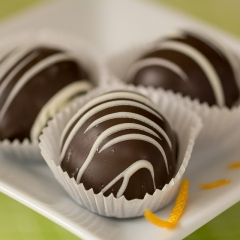 Honorable Mention Realistic -  Three Chocolates-Sue Oberstar