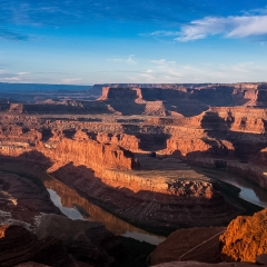 17.Dawn over Dead Horse Point - Richard Hudson