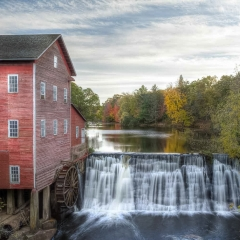 2.Dells Mill in Fall - Jim Kaul