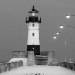 20.Winter Lighthouse - Fred Sobottka