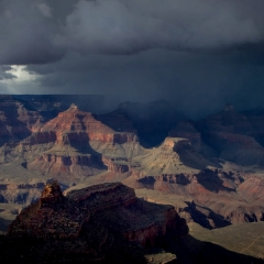 Nature Acceptance - Grand Canyon Storm - Michael Waterman