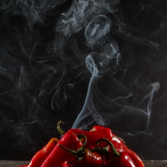 Realistic - Hot Peppers - Larry Weinman