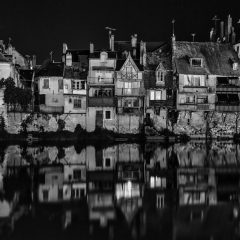 2nd Place Mono Print - Argenton River Reflections - Terry Butler