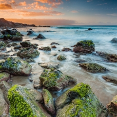 7.Green Rocks Sunset - Pavel Blagev