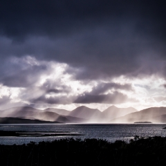 Realistic- Godbeams on the Isle of Skye - Richard Hudson