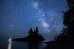 Nature - Mars and the Milky Way - Terry Butler