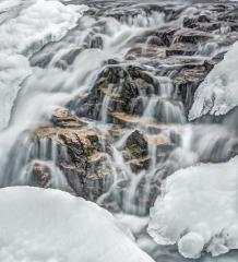 04.Willow River Falls Detail - Steve Plocher