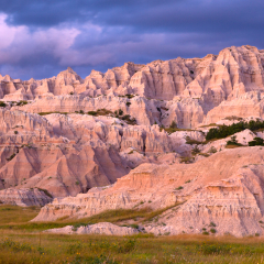 Pictorial - Badlands Sunset - Terry Butler