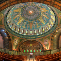 Pictorial - Lakewood Memorial Chapel Has Ten Million Mosaic Tiles That Are the Size of Your Fingernail - Mick Richards