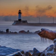 Pictorial - Winter Sunrise - Michael Waterman