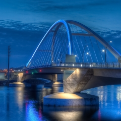 Color Print - Lowry Avenue Bridge - Terry Butler