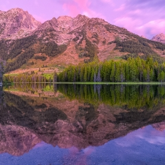 Nature - String Lake Reflections - Terry Butler