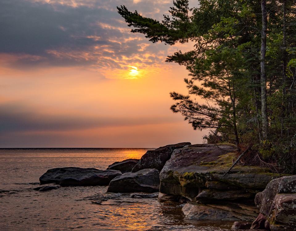 """Julian Bay Stockton Island"" - Stever Plocher"
