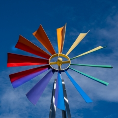 3.Complementary Colors - Color Whel Fin Windmill - H Steve Cole