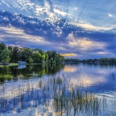 Reflecting on a Sunset - Fred Sobottka