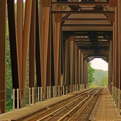 10.1st Place - Railroad Bridge Cheryl Warnkenyl-Warnken