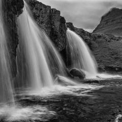 Blank & White Acceptance - Kirkjufoss - Melissa Anderson