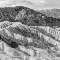 Blank & White Honorable Mention - Morning Light, Death Valley - Marianne Diericks