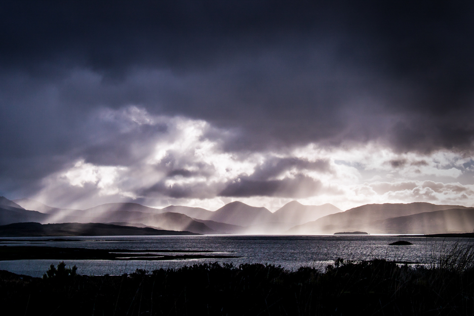 God Beams on the Isle of Skye - Richard Hudson