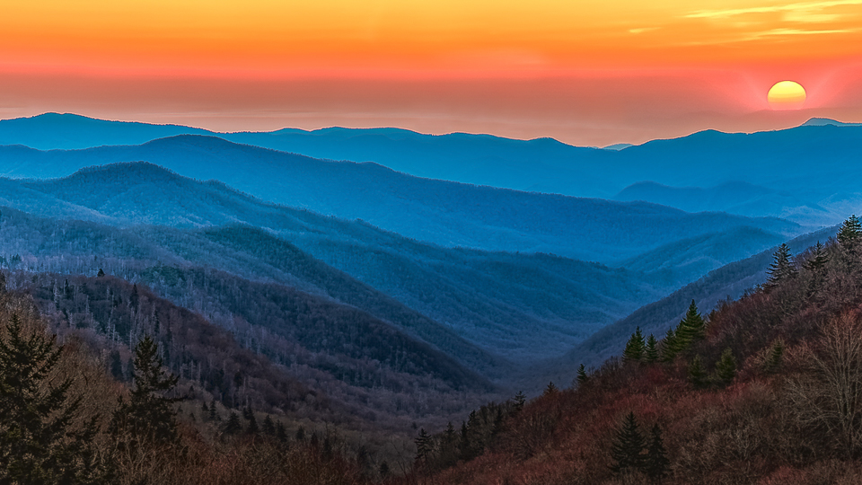 Smoky Mountain Sunset - Marianne Diericks