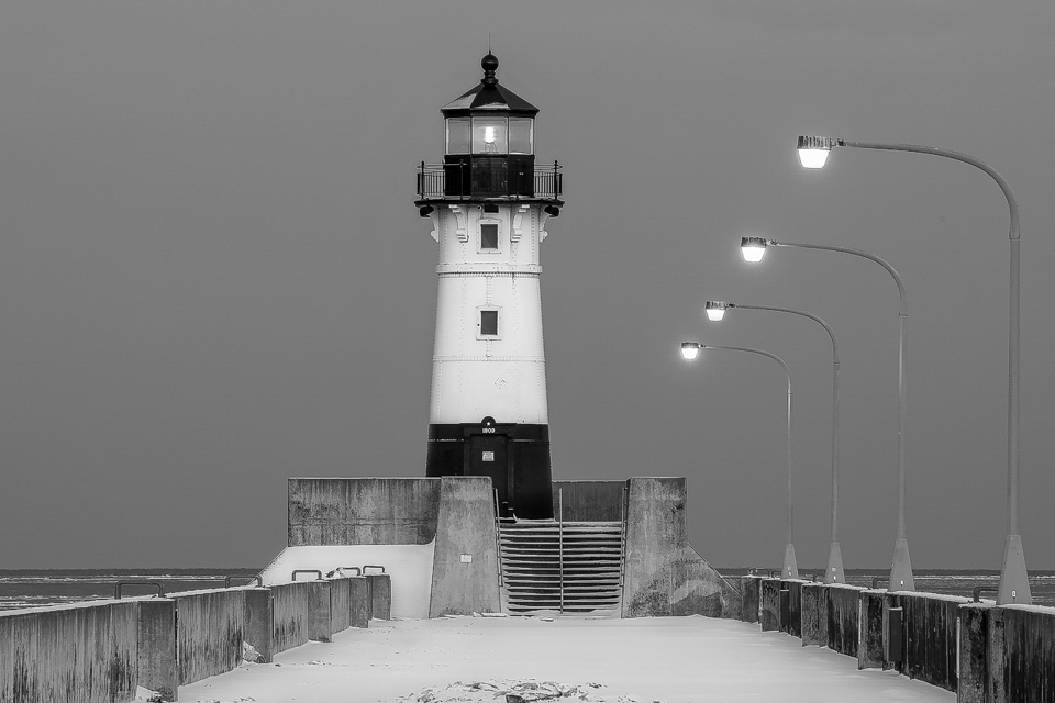 Winter Lighthouse - Fred Sobottka