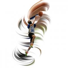 Merit - Altered Reality - Basketball Whirlwind - Betty Bryan