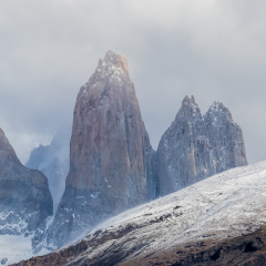 Merit - Travel - Visible through the Clouds Torres Del Paine NP Chile - Melissa Anderson