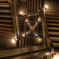 Stairwell in International Market Square, St. Paul - Bill Donovan