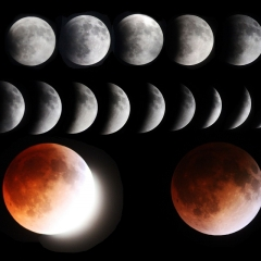 1 - Total Lunar Eclipse