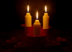 Assignment-Hearts and Candles-Terry Butler