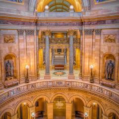 Merit - Travel - MN State Capitol Rodunda - Marianne Diericks