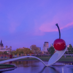 Assignment - Cherry and Spoon During the Blue Hour - Mick Richards