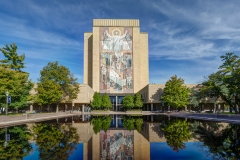 Word of Life Mural -Touchdown Jesus- at Notre Dame