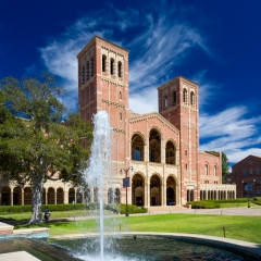 Royce Hall on the Campus of UCLA