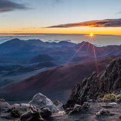 Merit - Travel - Haleakala Sunrise - Maui HI - Mick Richards