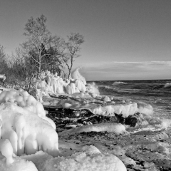 4.Icy Shore
