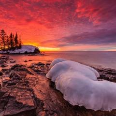 Honorable Mention Pictorial - Burning Sunrise - Pavel Blagev