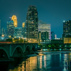 Honorable Mention Travel - City Lights of Minneapolis - Terry Butler