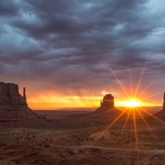 Honorable Mention - Travel - Monument Valley Sunrise AZ - Mick Richards